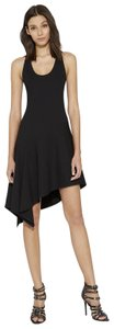 Halston Lbd Little Heritage Assymetrical Dress