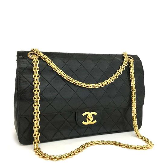 Preload https://img-static.tradesy.com/item/23390943/chanel-large-quilted-classic-double-flap-866897-black-lambskin-leather-shoulder-bag-0-0-540-540.jpg