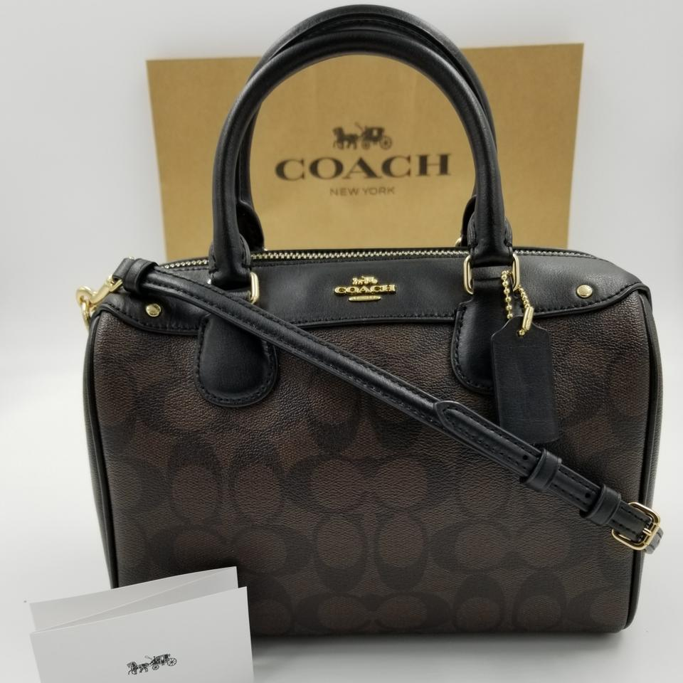 9adf83d0b8 norway black and brown coach purse d38ac 0cee2