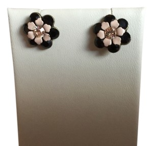 Micheal Negrin MICHAL NEGRIN ENAMEL ON METAL FLOWER STUD EARRINGS