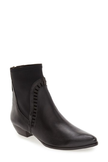 Matisse Leather Ankle Chelsea Black Boots