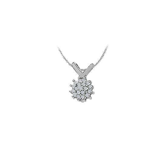 Preload https://img-static.tradesy.com/item/23391351/white-cubic-zirconia-flower-pendant-in-14k-gold-with-a-free-16-inch-ch-necklace-0-0-540-540.jpg
