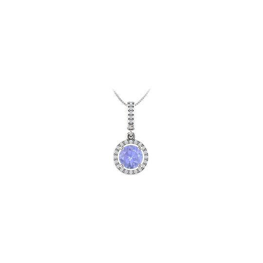 Preload https://img-static.tradesy.com/item/23391419/blue-white-gold-december-birthstone-tanzanite-and-cz-halo-gemstone-pendant-14k-g-necklace-0-0-540-540.jpg