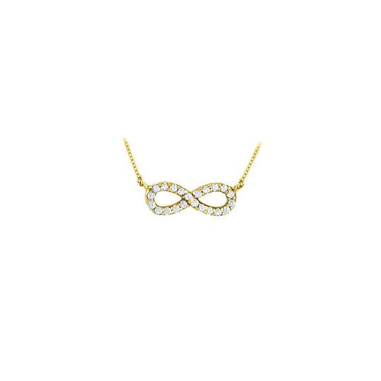 Preload https://img-static.tradesy.com/item/23391454/yellow-yellow-gold-designer-inspired-infinity-pendant-with-april-birthstone-diamond-in-14-necklace-0-0-540-540.jpg