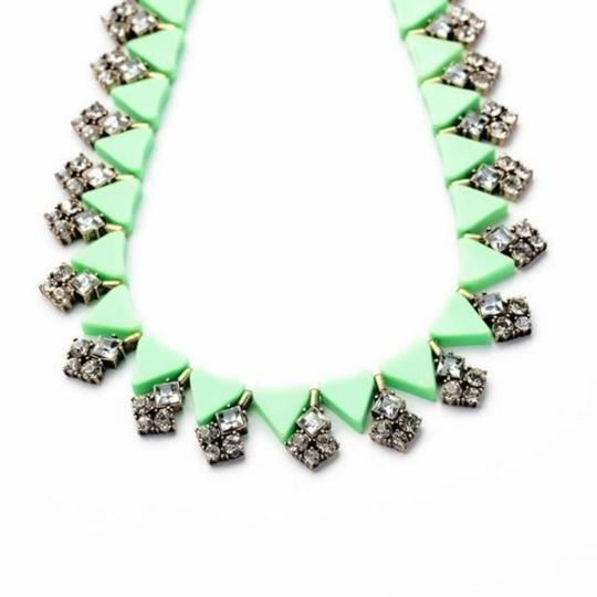 Private Collection Trinket Green Collar Necklace