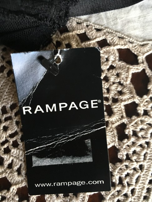 Rampage Rampage corset W PADDED BRA with suspenders