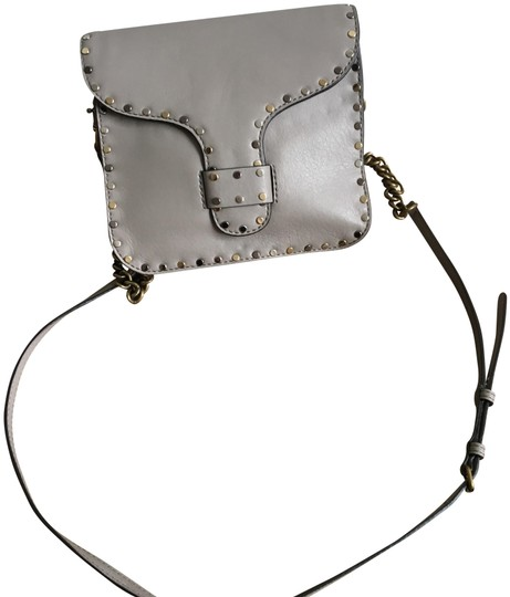 Rebecca Minkoff Leather Studded Imported Cross Body Bag