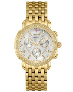 Michele Sidney Mother of Pearl Diamond Dial MWW30A000008