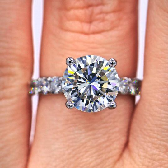 Preload https://img-static.tradesy.com/item/23392096/384-tcw-round-cut-diamond-elegant-pave-engagement-ring-0-1-540-540.jpg