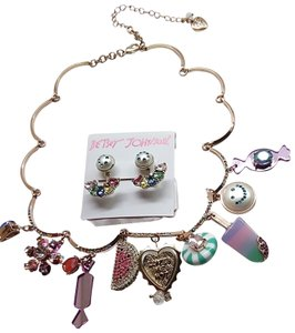 Betsey Johnson Betsey Johnson New Candy Necklace and Earrings