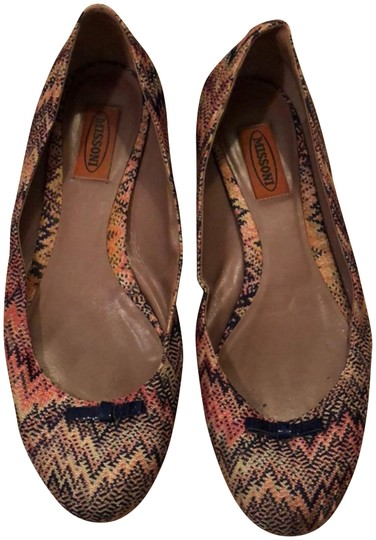 Preload https://img-static.tradesy.com/item/23392104/missoni-multicolor-signature-chevron-print-ballet-flats-size-eu-39-approx-us-9-regular-m-b-0-1-540-540.jpg