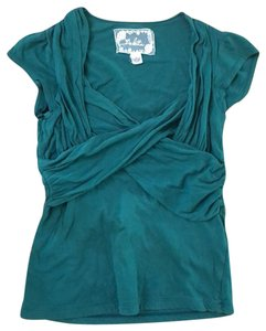 Anthropologie Top green