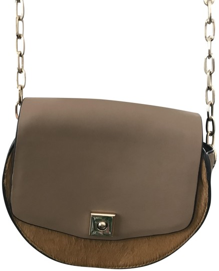 Preload https://img-static.tradesy.com/item/23392210/zara-brown-faux-leather-and-calf-hair-cross-body-bag-0-1-540-540.jpg