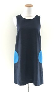 Lisa Perry short dress Navy/Blue on Tradesy
