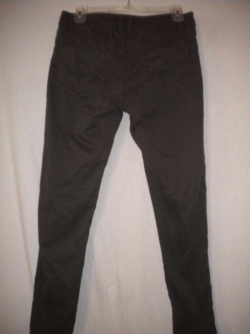 Willow & Clay Skinny Leg Anthropologie Capri/Cropped Pants Dark Taupe