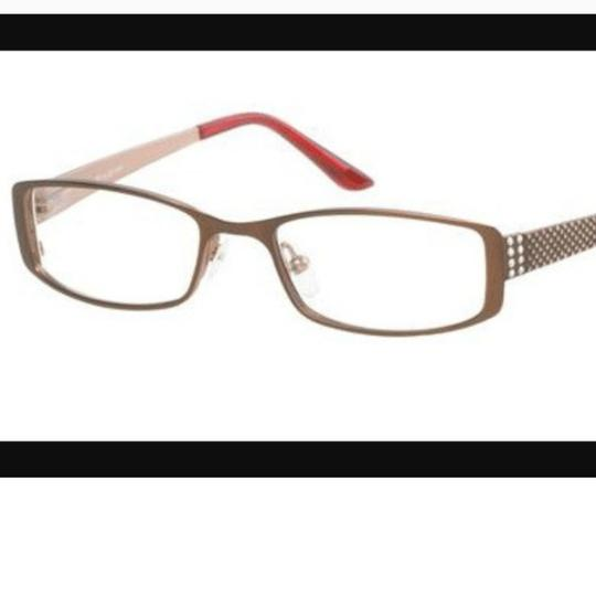Jill Stuart and VERA WANG 2 PAIRS OF EYEGLASSES BUNDLE Bronze Eyeglasses Frames Womens designer eye glasses lens lenses frame sunglasses prescription bronze wire stainless steel eyewear eye wear haute couture Saks fifth avenue specs