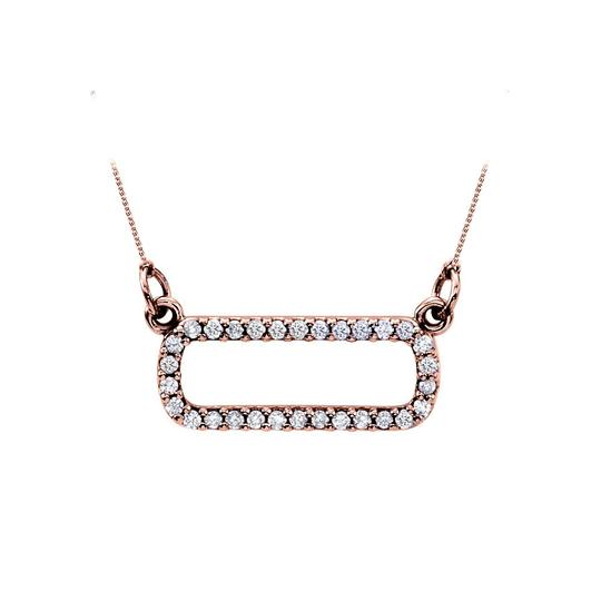 Preload https://img-static.tradesy.com/item/23392483/pink-rose-gold-diamond-pendant-in-14k-unique-set-at-best-a-necklace-0-0-540-540.jpg