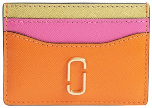 Marc Jacobs Snap Shot Leather Card Case