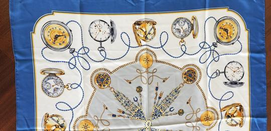 Rolex Rolex Limited Edition Silk Scarf Silver Watches Made in Swiss
