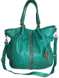 Lucky Brand Charlotte Crossbody Studded Tote in Teal - item med img