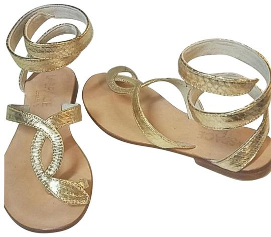 Cocobelle Gold Lspace Snake Ankle Wrap