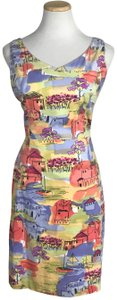 Coldwater Creek short dress Multi Color V-neck Sleeveless Cotton Spring Summer on Tradesy