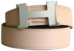 Hermès Constance 24MM/90CM Hermes Belt Kit Palldium Silver Buckle