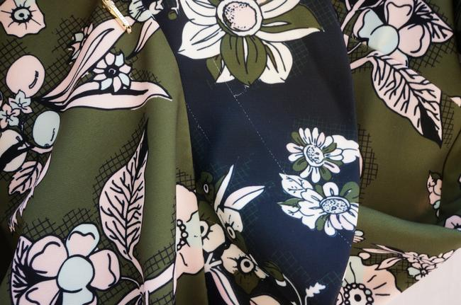 Ted Baker short dress Green Floral on Tradesy