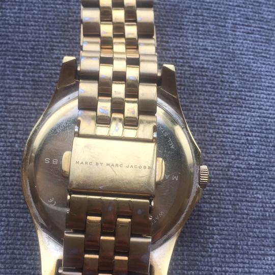 Marc by Marc Jacobs Marc Jacobs Women's Slim Black Goldtone Stainless Steel Watch