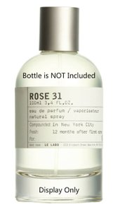 Le Labo Rose 31 EDP filled in 5ML Black Refillable Perfume Spray Only
