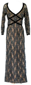 Victor Costa Train Lace Vintage Gown Dress