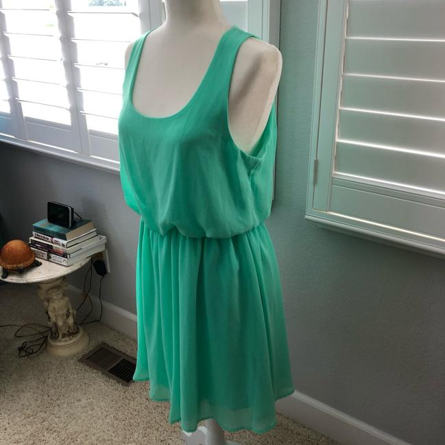 Lush short dress mint green on Tradesy