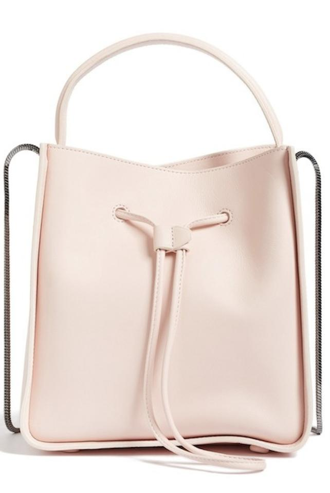 05ae2243c92b 3.1 Phillip Lim Mini Soleil Bucket Light Pink Leather Cross Body Bag ...