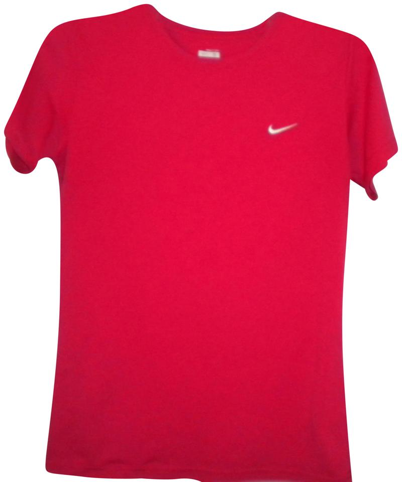 4f830dbbd49d7 Nike Hot Pink Women Small Athletic Tee Shirt Size 4 (S) - Tradesy
