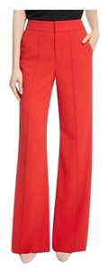 Alice + Olivia Wide Leg Pants poppy