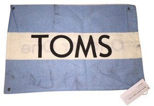 TOMS Tom's Storage Satchel in Blue and Beige