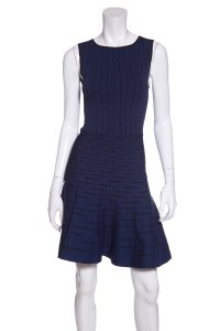 Ohne Titel short dress Blue on Tradesy