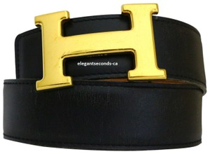 Hermès Constance 32MM/80CM Hermes Belt Kit Gold Plated Buckle