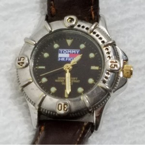 Tommy Hilfiger Tommy Hilfiger Quartz Watch Luminous Dial Leather Band