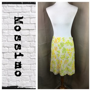 Mossimo Supply Co. Skirt Yelliw/Green/White