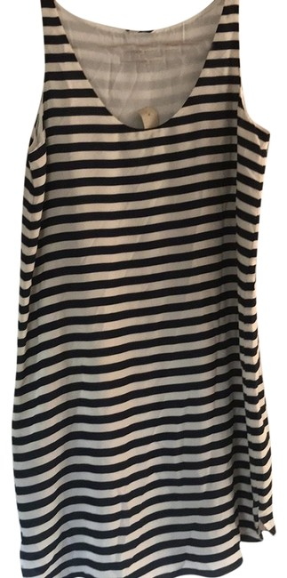 Ann Taylor LOFT short dress blue and white striped on Tradesy Image 0