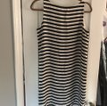 Ann Taylor LOFT short dress blue and white striped on Tradesy Image 2
