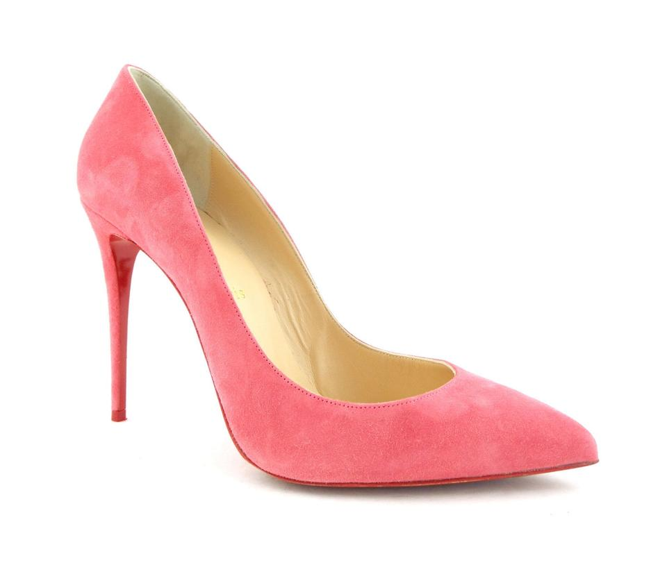 the latest 06856 e915f Christian Louboutin Begonia Pink Suede Leather Classic Pumps Size EU 39  (Approx. US 9) Regular (M, B)