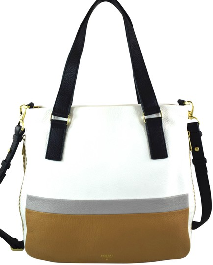 Preload https://img-static.tradesy.com/item/23394976/fossil-preston-neutral-multi-leather-satchel-0-1-540-540.jpg