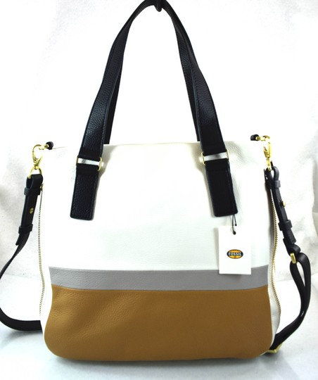 Fossil Satchel in Neutral Multi Image 3