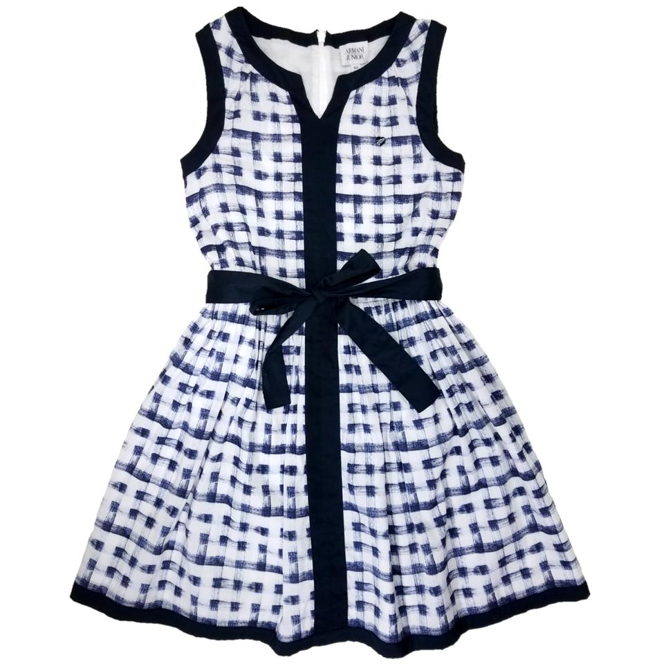 Blue and White Casual Dresses for Juniors