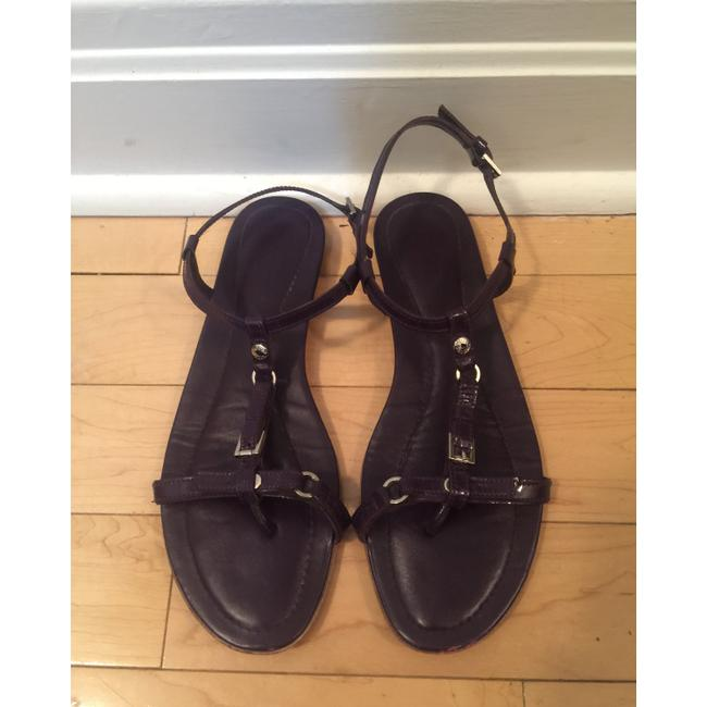 Item - Purple T-strap Sandals Flats Size EU 37 (Approx. US 7) Regular (M, B)