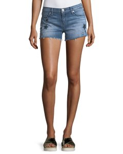 Hudson Cutoff Denim Shorts-Distressed