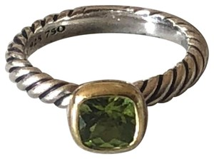 David Yurman David Yurman Color Classics Ring with Châtelaine and Gold