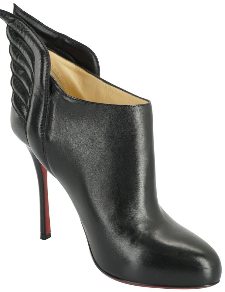 c703384e7abd Christian Louboutin Red Bottom Party Booties 7091108 Black Pumps Image 0 ...
